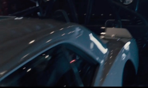 Tyrese Gibson with Chevrolet Camaro Coupe in Furious 7