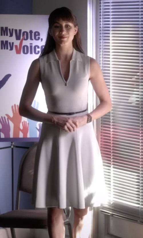 Troian Bellisario with Jason Wu Thuya Polo Dress in Pretty Little Liars