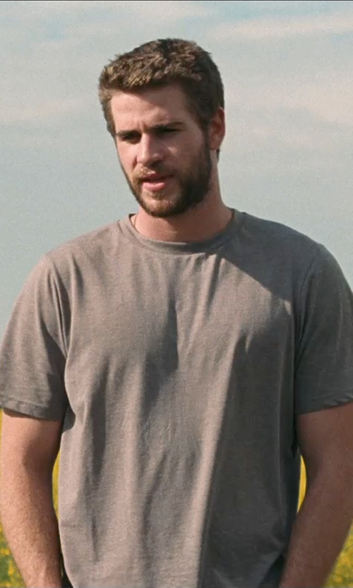 Liam Hemsworth with Wings + Horns Short Sleeve T-Shirt in Cut Bank