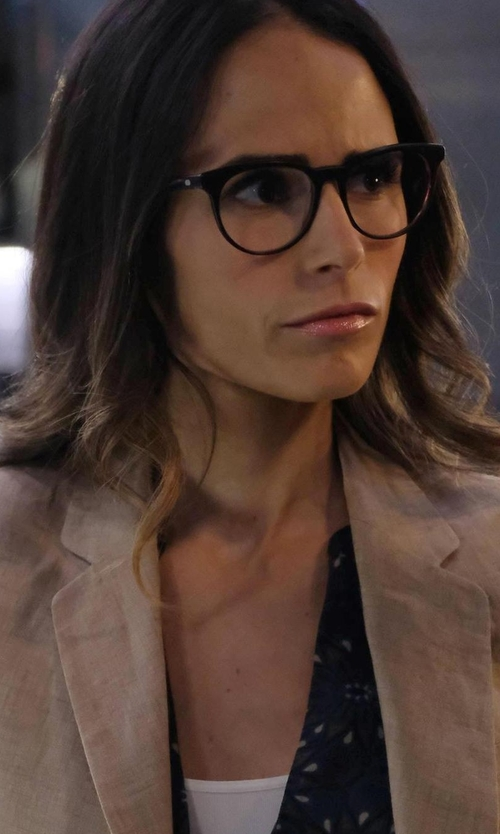 Jordana Brewster with Raen Cannon Acetate Frames Eyeglasses in Lethal Weapon