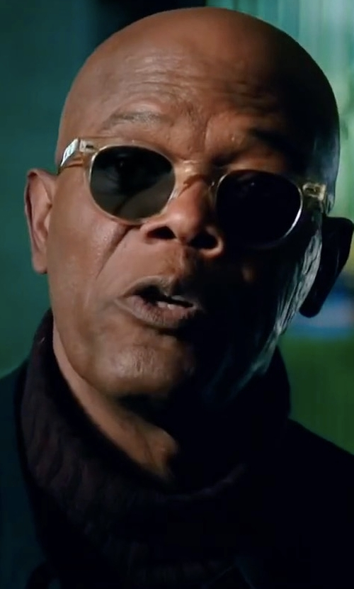 Samuel L. Jackson with Vince Featherweight Turtleneck Sweater in xXx: Return of Xander Cage