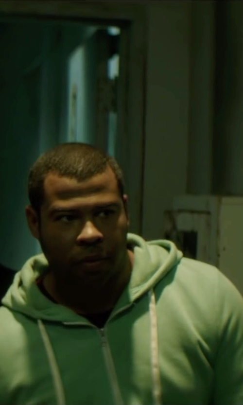 Jordan Peele with Alternative Zip Hoodie in Keanu