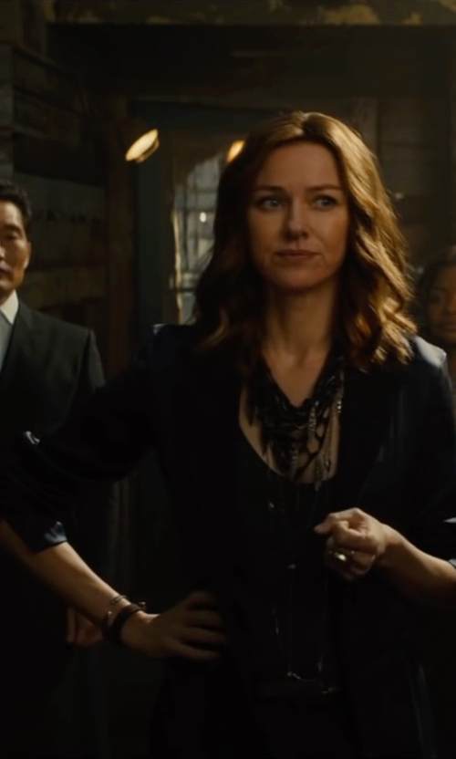 Naomi Watts with Manuel Ritz Blazer in The Divergent Series: Allegiant