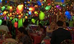 Charlie Cox with Panna II Garden Indian Restaurant New York City, New York in Daredevil