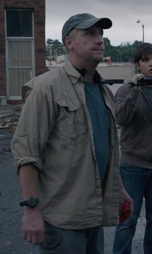 Matt Walsh with T by Alexander Wang Classic T-shirt in Into the Storm