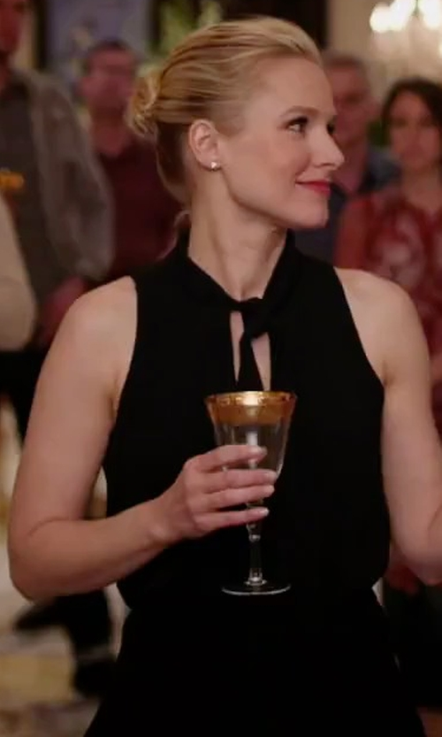 Kristen Bell with Elizabeth And James Enya Dress in The Good Place