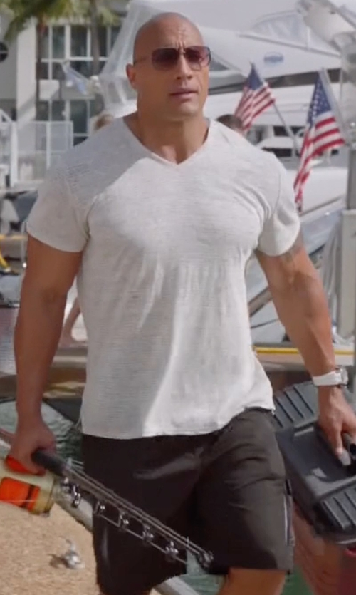 Dwayne Johnson with Arc'teryx Stowe Short in Ballers