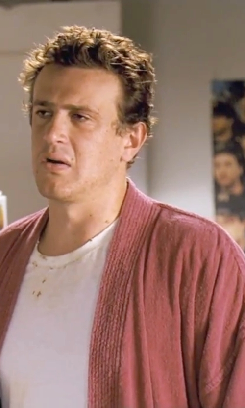 Jason Segel with Ralph Lauren Terry Kimono Robe in Forgetting Sarah Marshall