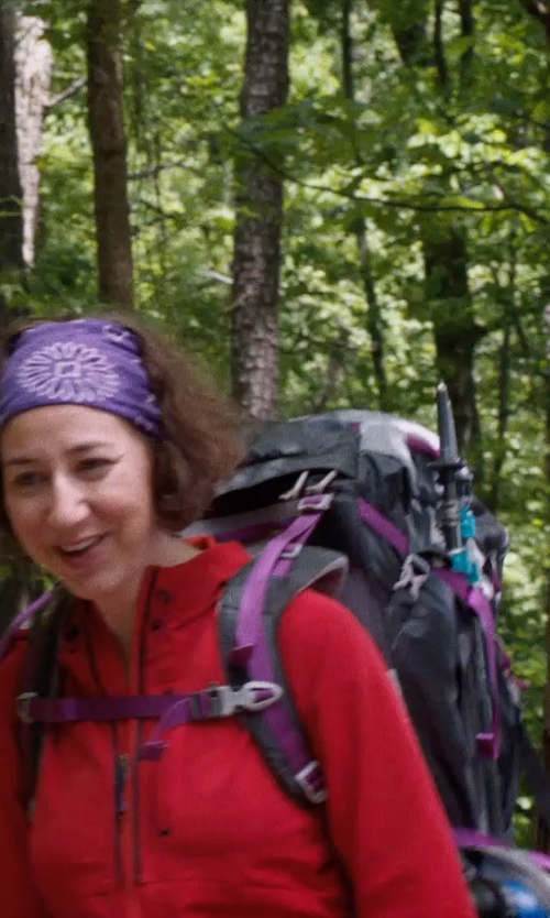 Kristen Schaal with Mountain Hardwear Lani Backpack in A Walk in the Woods