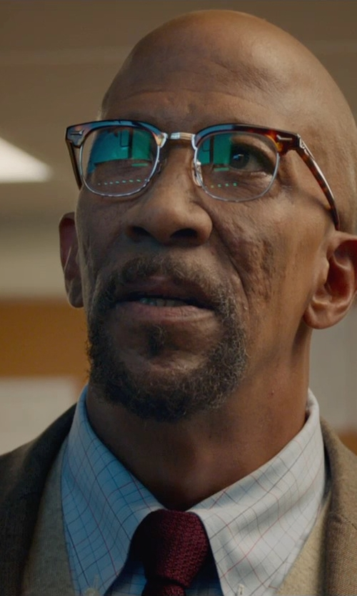 Reg E. Cathey with Jos A. Bank Signature Pima Cotton Sweater Vest in Fantastic Four