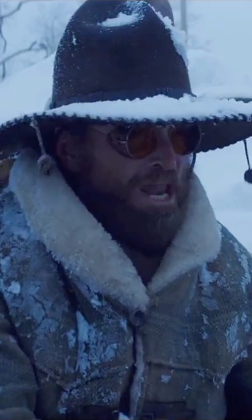 James Parks with Party City Mariachi Hat in The Hateful Eight