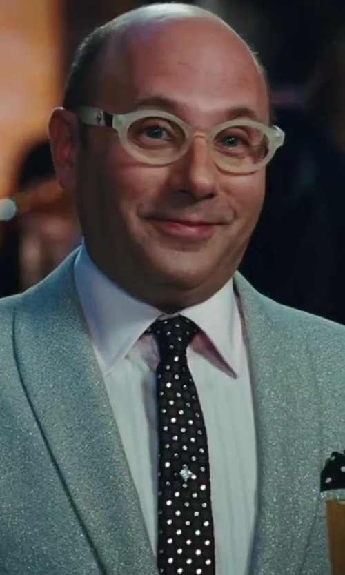 Willie Garson with Michael Michael Kors Silk Dot Print Tie in Sex and the City 2