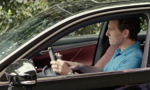 Sebastian Arcelus with Ford Taurus Sedan in The Best of Me