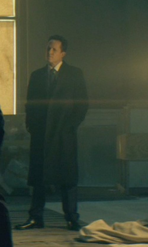 Dean Winters with Lauren Ralph Lauren Columbia Cashmere-Blend Overcoat in John Wick
