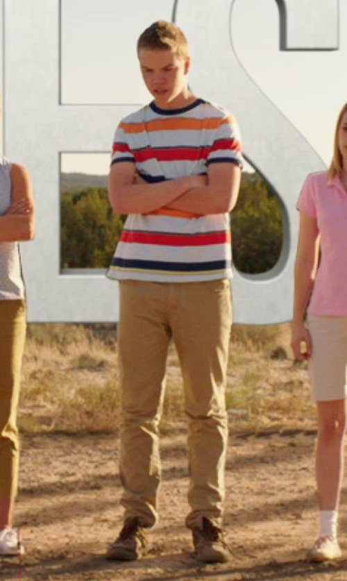 Will Poulter with Merrell Men's Mountain Diggs Lace-Up Shoes in We're the Millers