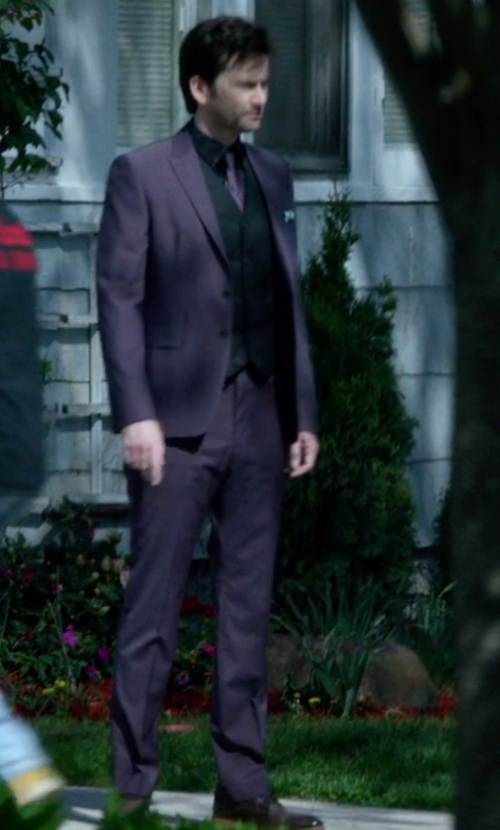 David Tennant with Lacoste Henri Oxford Shoes in Jessica Jones