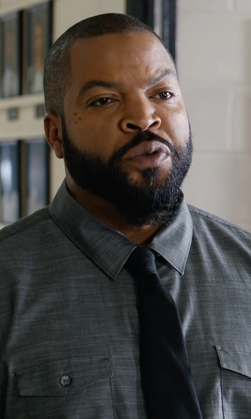 Ice Cube with ATM Anthony Thomas Melillo Utility-Pocket Long-Sleeve Shirt in Fist Fight