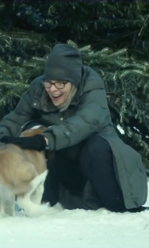Diane Keaton with The North Face Women's Miss Metro Parka in Love the Coopers