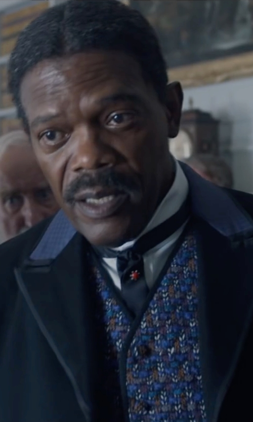 Samuel L. Jackson with Brosis V-Neck Vest in The Legend of Tarzan
