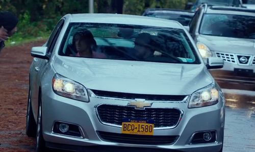 Ed Helms with Chevrolet Malibu Sedan in Bastards