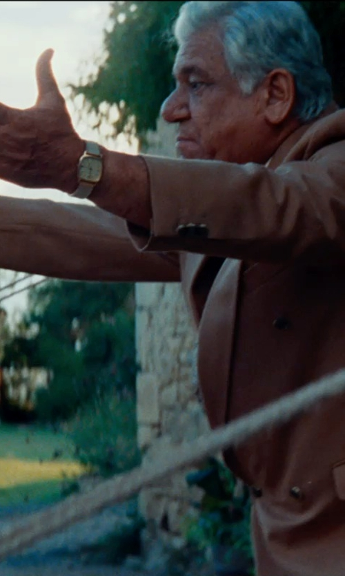 Om Puri with Royal London Men's Watch in The Hundred-Foot Journey