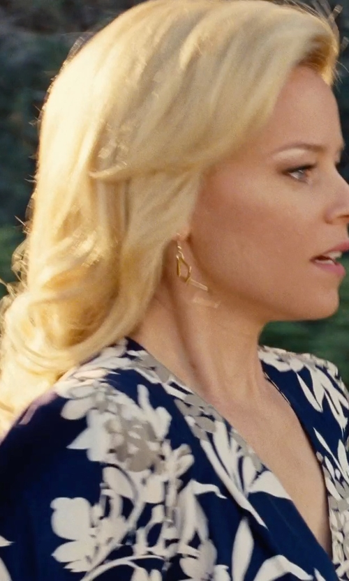 Elizabeth Banks with Lana Jewelry 'Aura' Small Drop Earrings in Love & Mercy