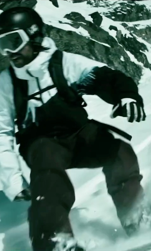 Clemens Schick with Rossignol Soul Stretch Ski Pants in Point Break