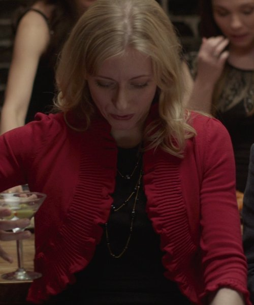 Tina Benko with David Yurman Bead Necklace with Black Onyx, Hematine, and Gold in That Awkward Moment