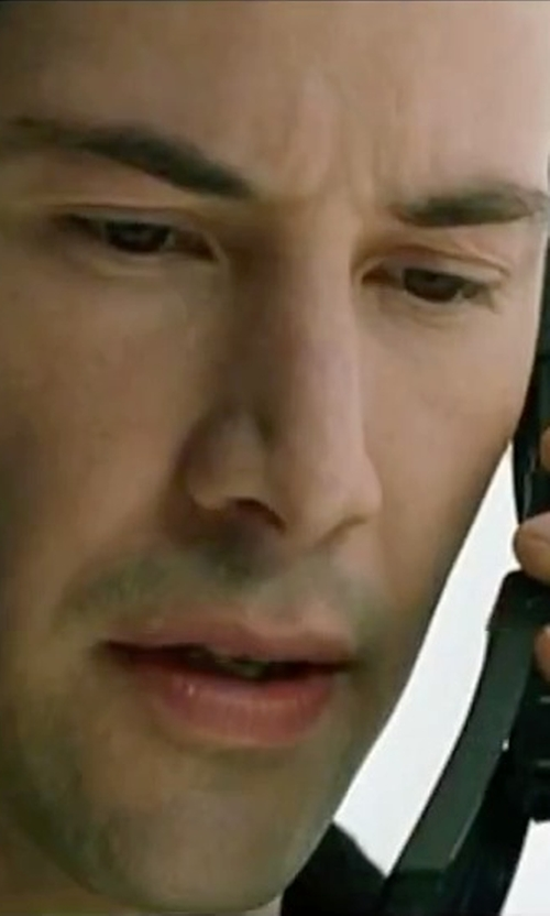 Keanu Reeves with Nokia 8110 Cellphone in The Matrix