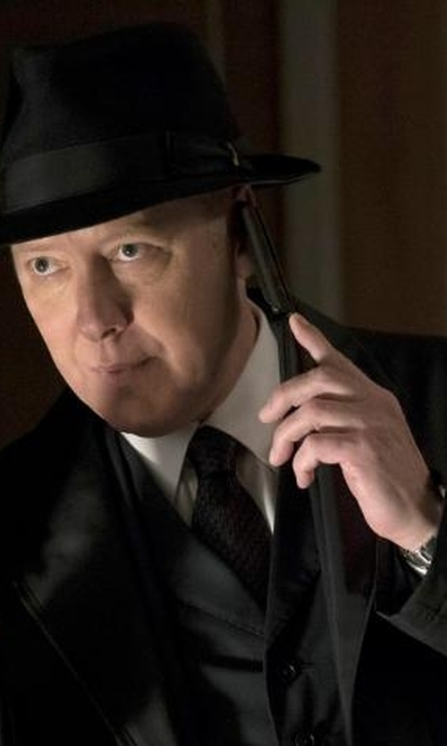 James Spader with Rolex GMT Master 16700 Watch in The Blacklist