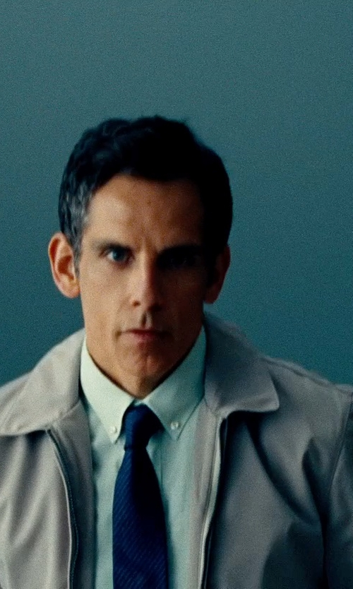 Ben Stiller with Cego Button Down Shirt in The Secret Life of Walter Mitty
