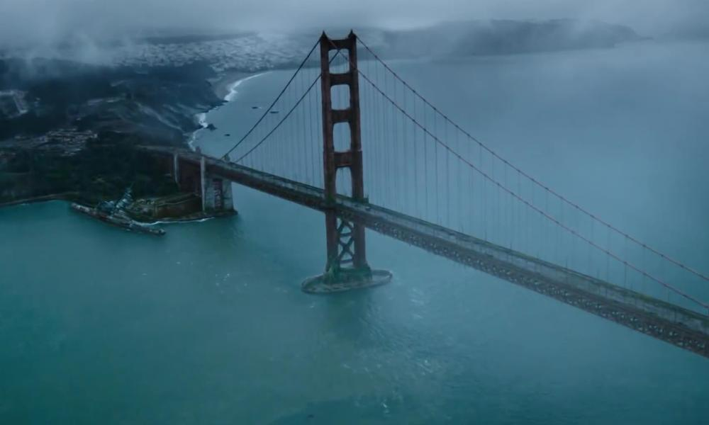 GOLDEN GATE BRIDGE San Francisco, CA in Dawn of the Planet of the Apes