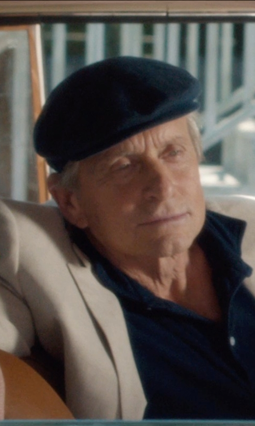 Michael Douglas with Armani Collezioni Trim Fit Polo in And So It Goes