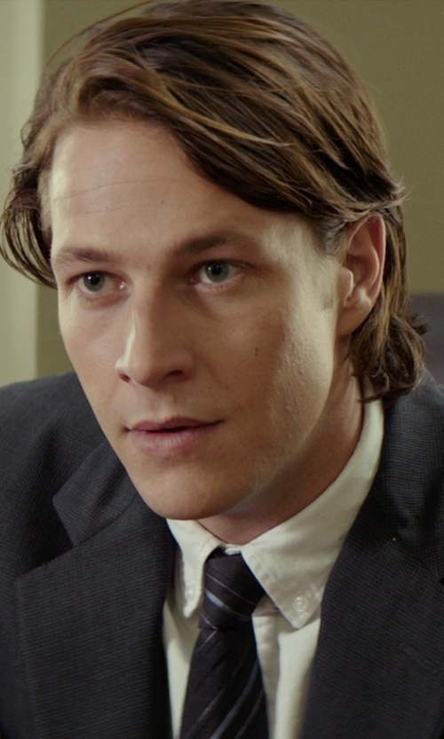 Luke Bracey with Calvin Klein Slim-Fit Wool Jacket in The Best of Me