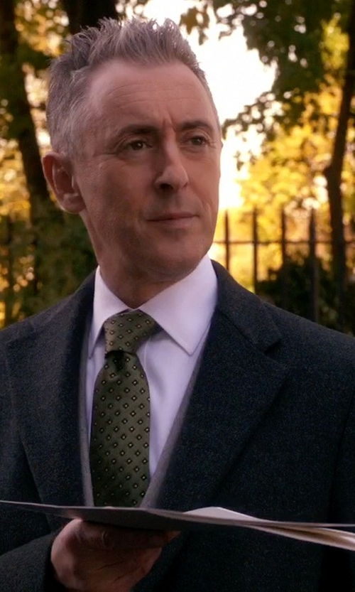 Alan Cumming with Kilgour Slim-fit Wool Silk And Cashmere-Blend Suit in The Good Wife