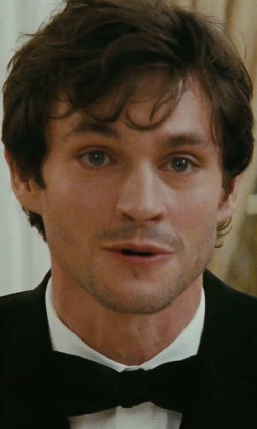 Hugh Dancy with Hugo Boss 'Jason' Slim Fit Solid Dress Shirt in Confessions of a Shopaholic