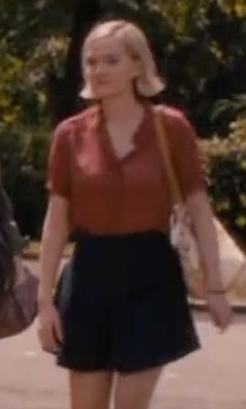 Jess Weixler with Chicnova Dark Wash Skater Skirt in The Disappearance of Eleanor Rigby