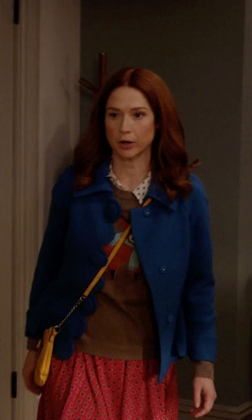 Ellie Kemper with Boden Alice Jacket in Unbreakable Kimmy Schmidt