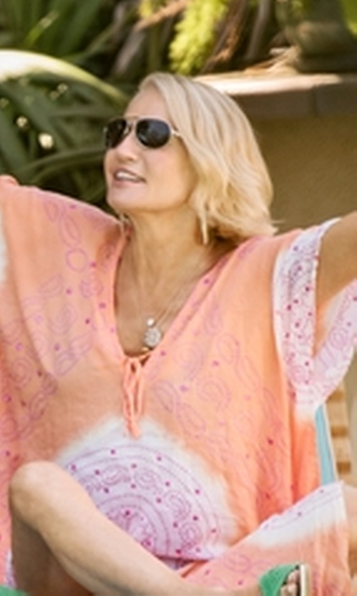 Ellen Barkin with Lacoste Aviator Sunglasses in Animal Kingdom