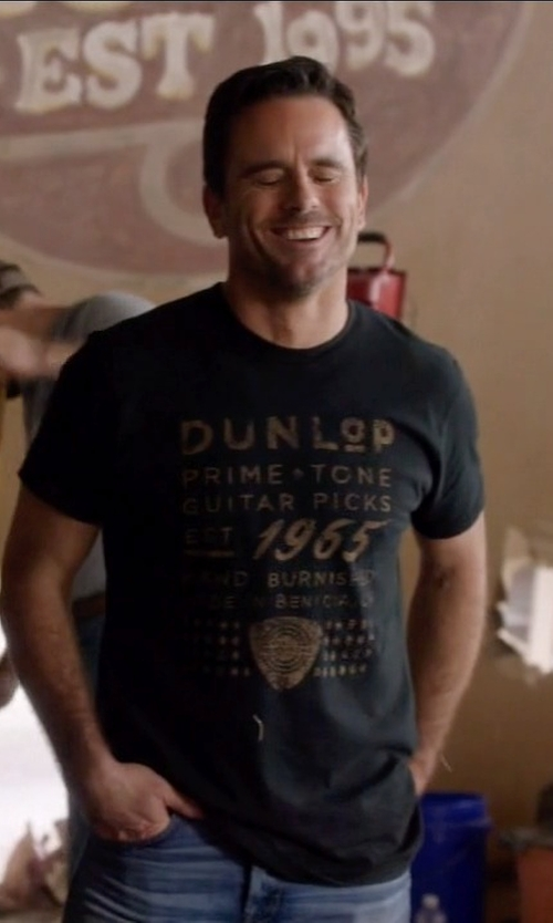 Charles Esten with Dunlop Primetone 1965 T-SHIRT in Nashville