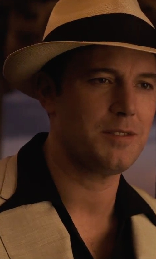 Ben Affleck with Tagliatore Two-Piece Suit in Live By Night