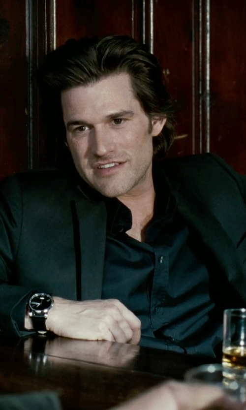 Johnny Whitworth with John Varvatos Jacket in Limitless