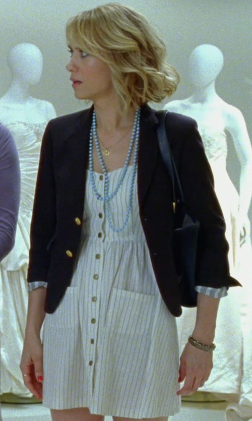 Kristen Wiig with Polo Ralph Lauren Wool Two-Button Blazer in Bridesmaids