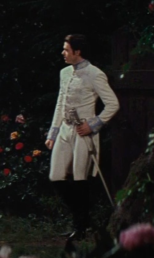 Richard Madden with Sandy Powell (Costume Designer) Custom Made 18th Century Prince Costume (Prince Charming) in Cinderella