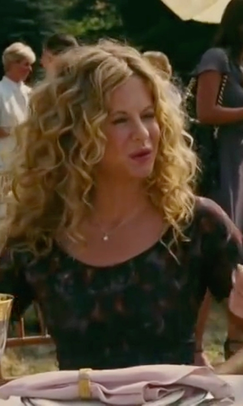 Meg Ryan with A.L.C. Georgette Louise Shift Dress in The Women