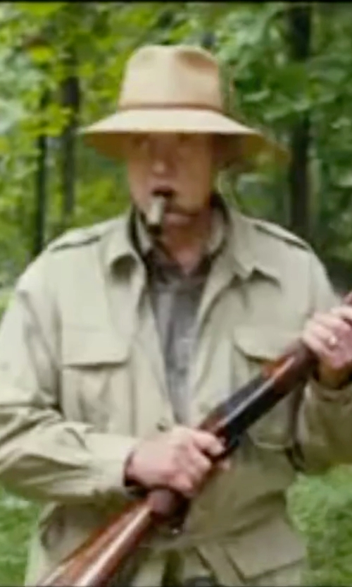 Christopher Walken with Timberland Hyvent Baker Mountain Field Jacket in Wedding Crashers