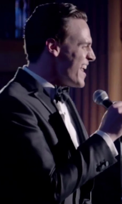 Erich Bergen with BROOKS BROTHERS Slim Fit Bib-Front Spread Collar Tuxedo Shirt in Jersey Boys