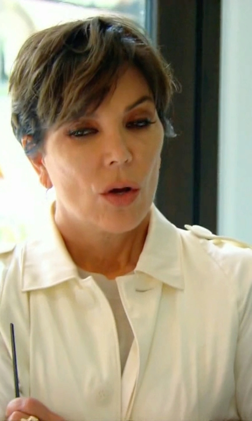 Kris Jenner with Michael Michael Kors Trench Coat in Keeping Up With The Kardashians