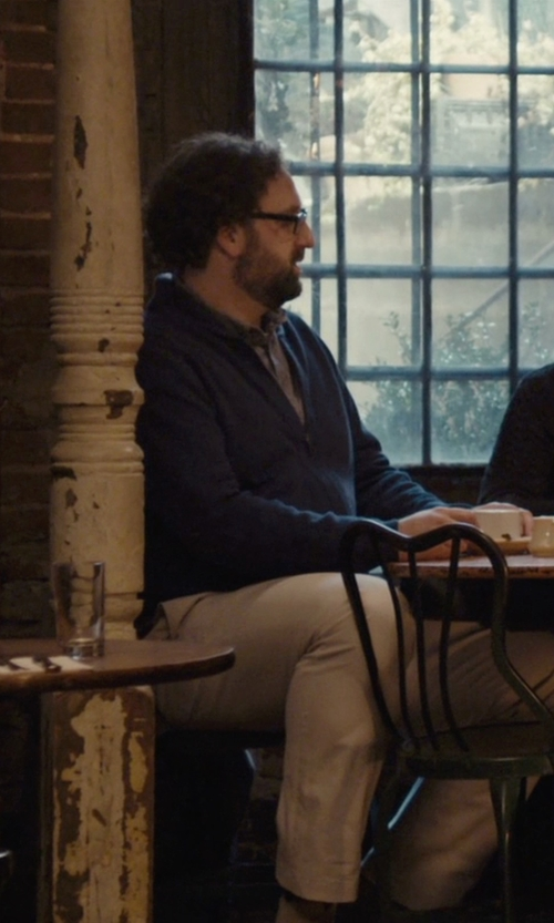 Eric Wareheim with Dockers Modern Slim Fit Chino Pants in Master of None