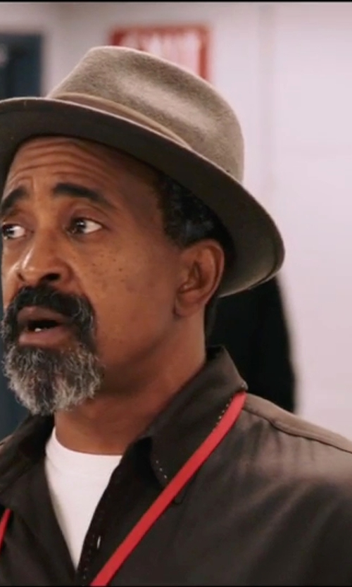 Tim Meadows with Robert Friedman Button Down Shirt in Popstar: Never Stop Never Stopping